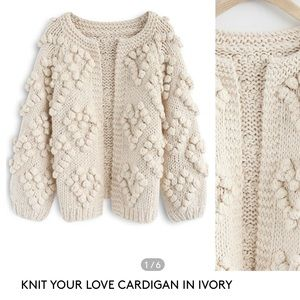 Chicwish Knit Your Love Cardigan